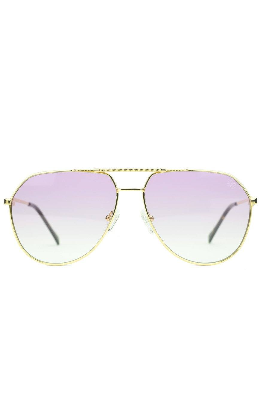 6decdb569b3 The Escobar Sunglasses in Pink Gradient  NEW  - The Gold Gods