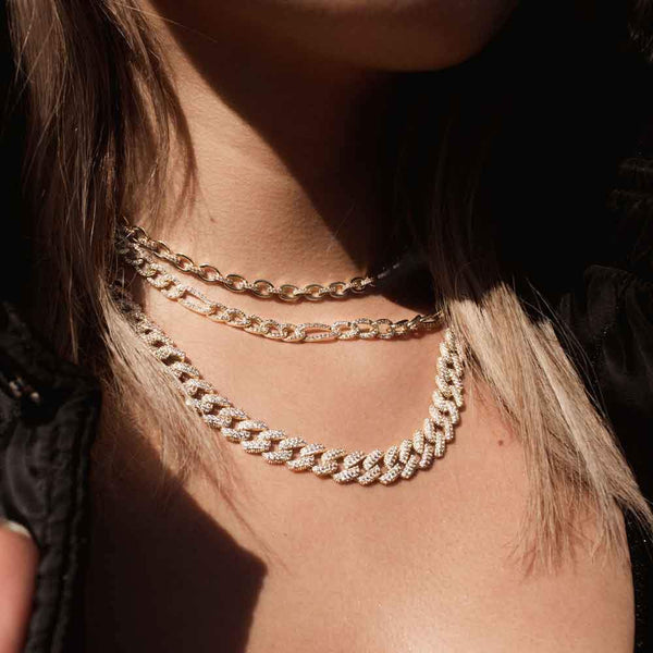 Women's Diamond Choker Necklace