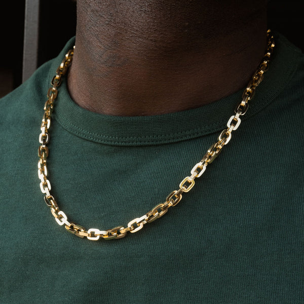 Gold Hermes Rolo Link Chain 18 22 Inches Gold Gods Lifestyle