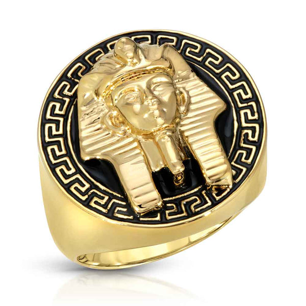 Gold Grecco Pharaoh Ring