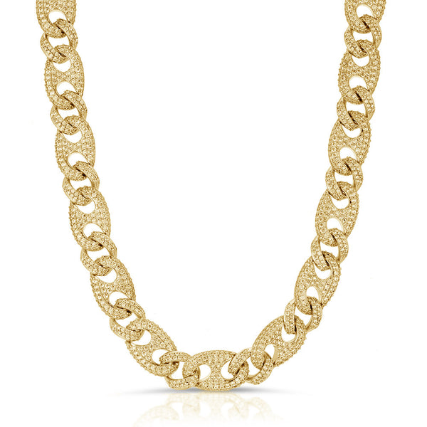 Diamond Cuban Gucci Link Chain Gold Golds® Gold Chain