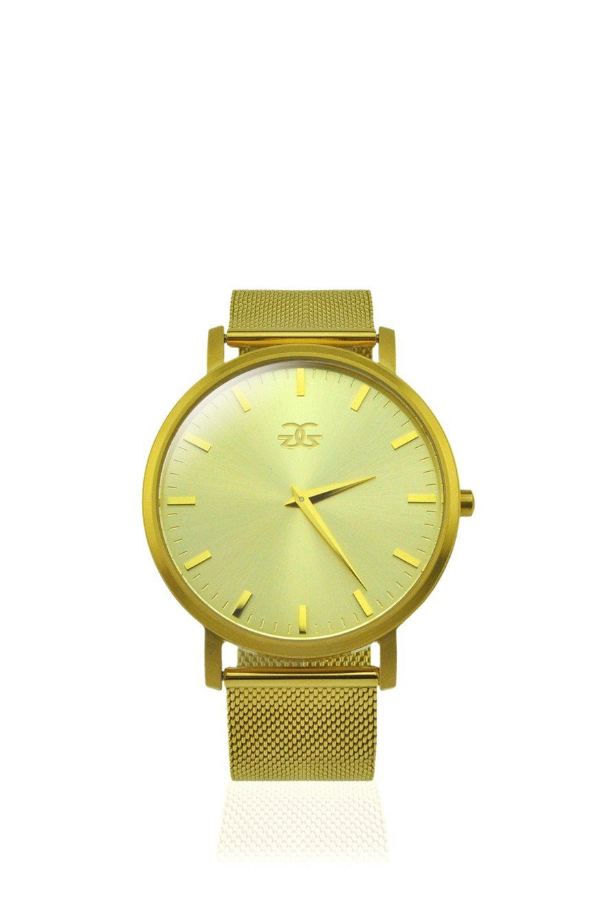 The Milanese Watch in Gold