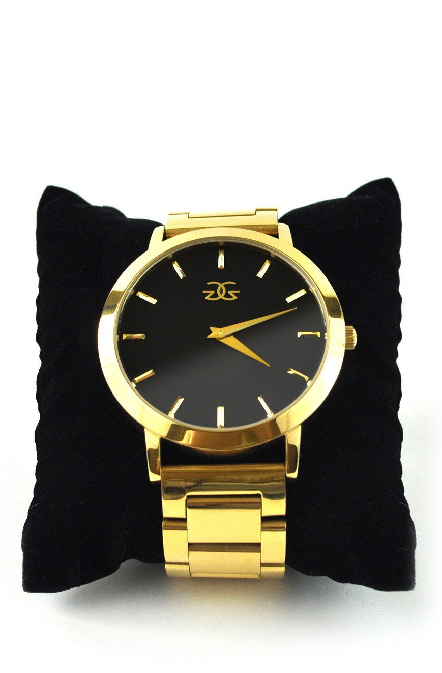 The Vigilate Watch Gold Band