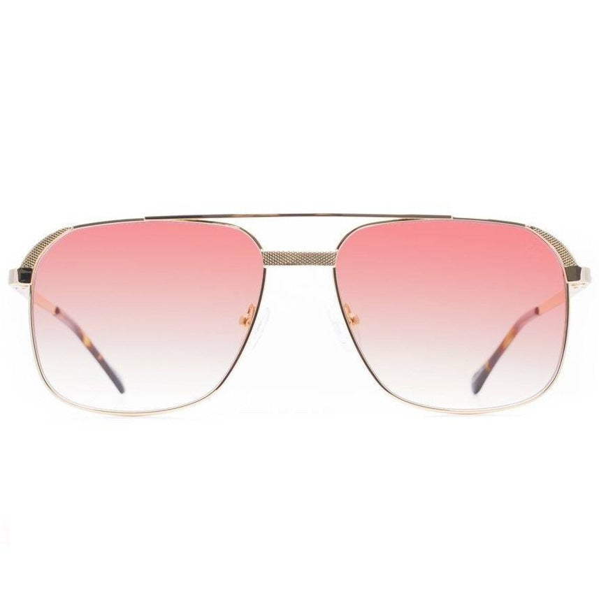 The Hades Sunglasses in Red Gradient