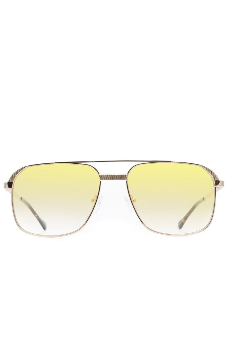 The Hades Sunglasses in Yellow Gradient
