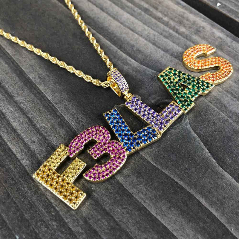 Haha Davis x Gold Gods FELLAS Rainbow Chain