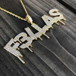 Haha Davis x Gold Gods FELLAS Drip Chain