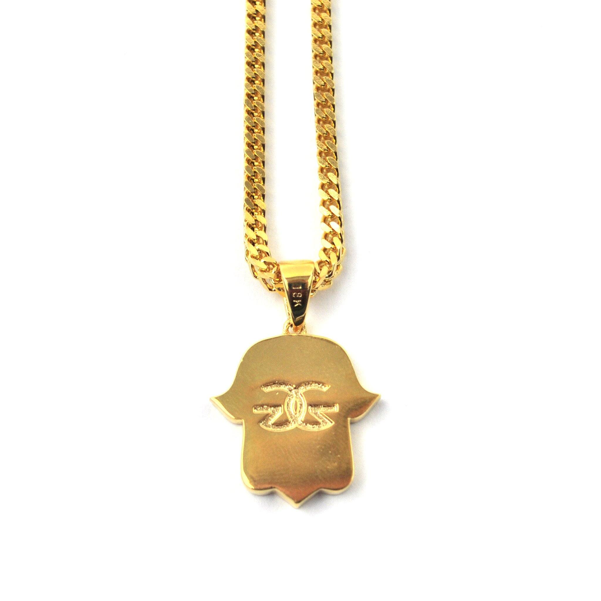 karma original dogeared gold necklace the dipped
