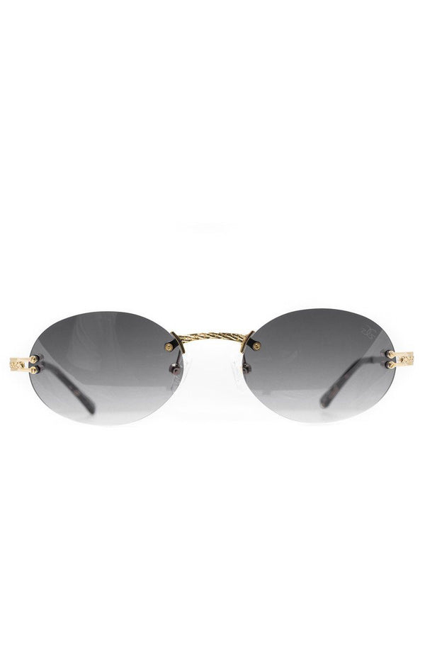 The Helios Sunglasses in Black Gradient
