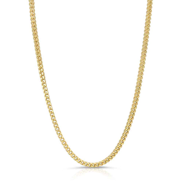 Franco Gold Chain 2.5mm Gold Gods®  front view