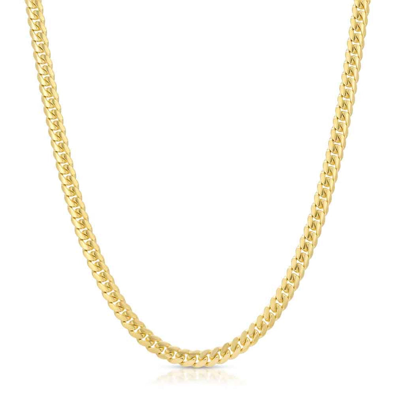 SOLID GOLD MIAMI CUBAN LINK CHAIN Gold Gods® front
