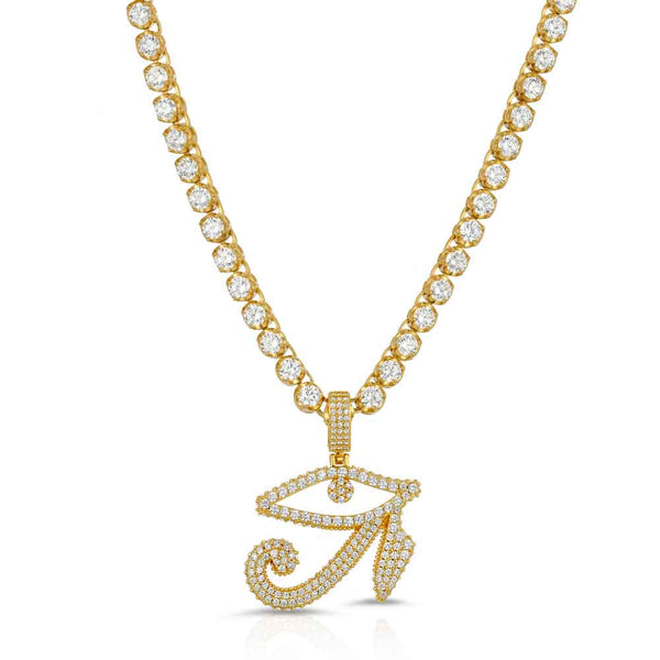 ace Pendant & Tennis Chain Gold Gods®