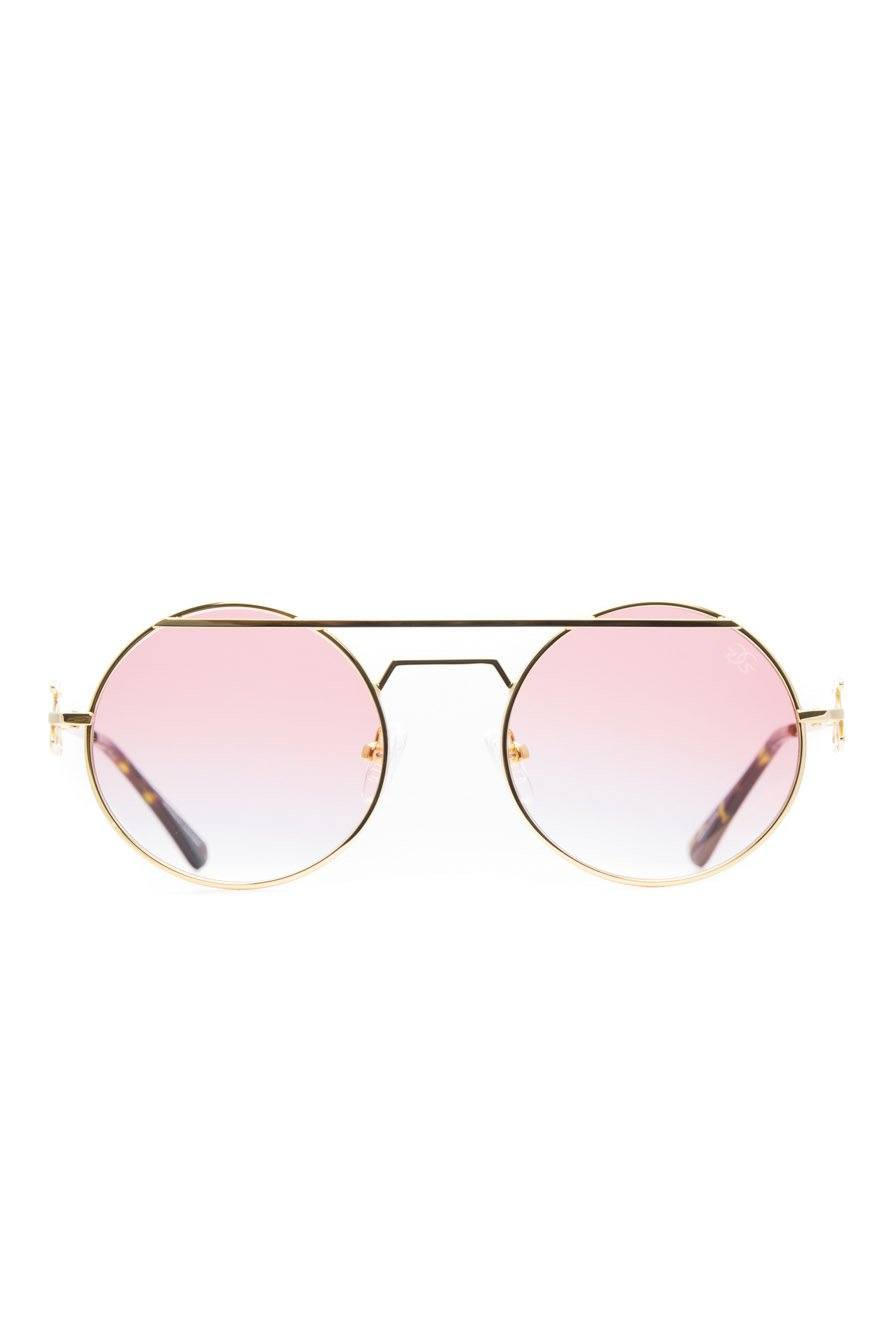The Luminaries Sunglasses in Red Gradient