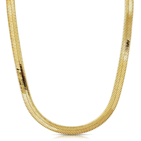 Herringbone Chain Gold Gods® front view