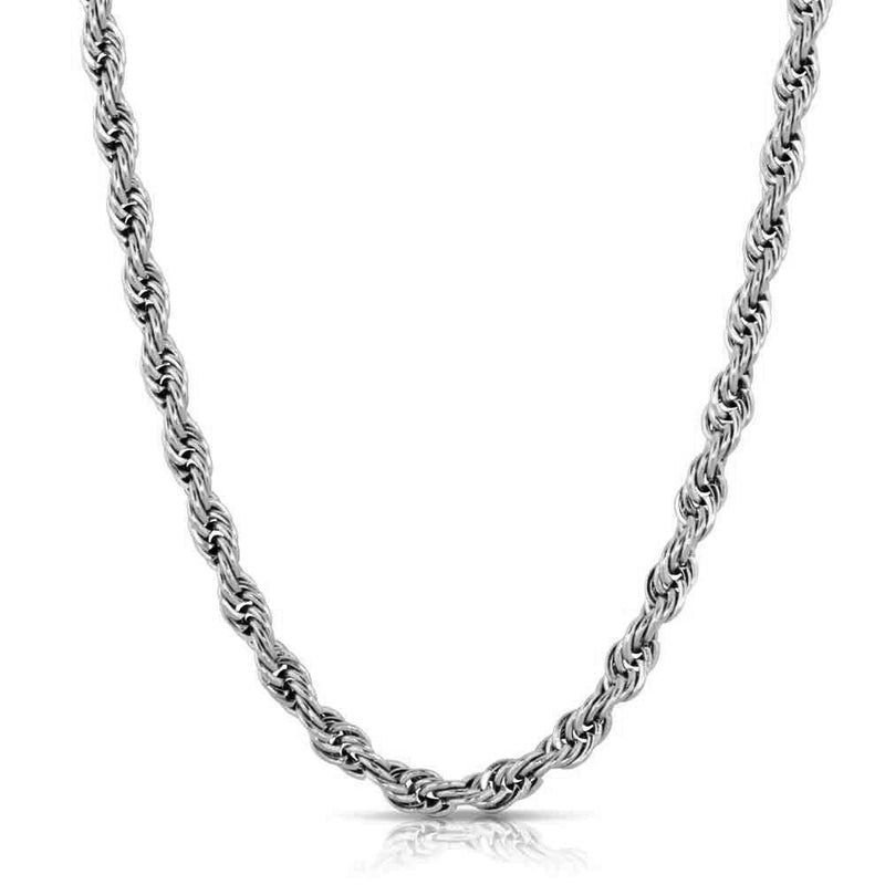 White Gold Rope Chain 2.5mm Gold Gods®