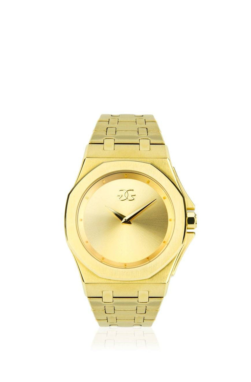 The Octavius Watch V2 in Gold