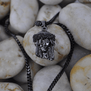 Micro Jesus Piece Necklace