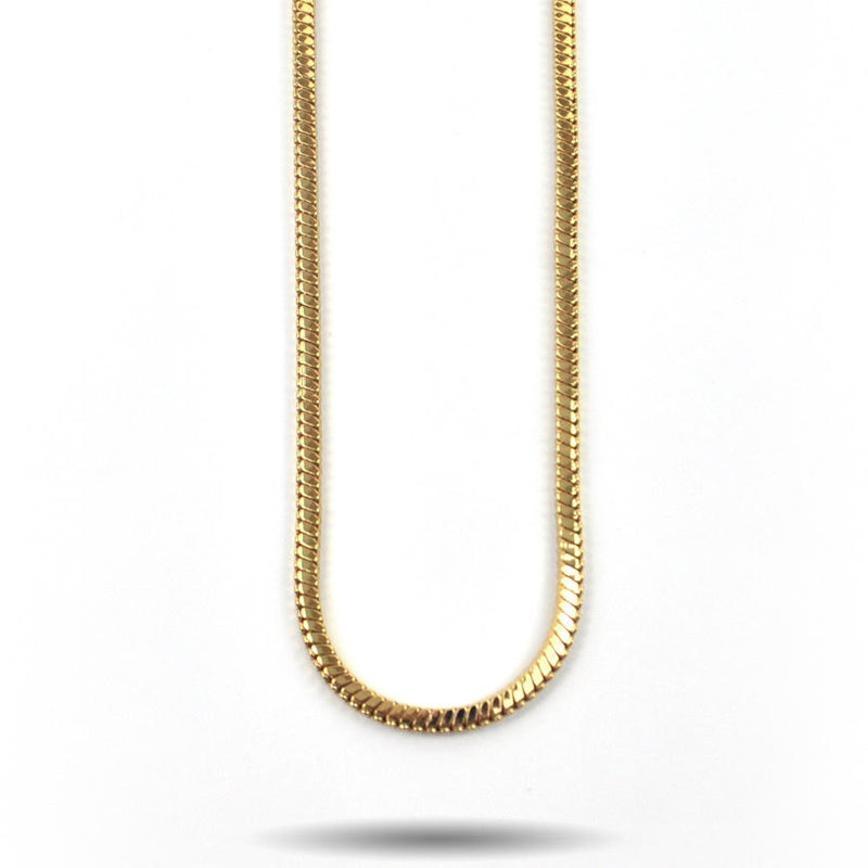 Gold Snake Box Chain