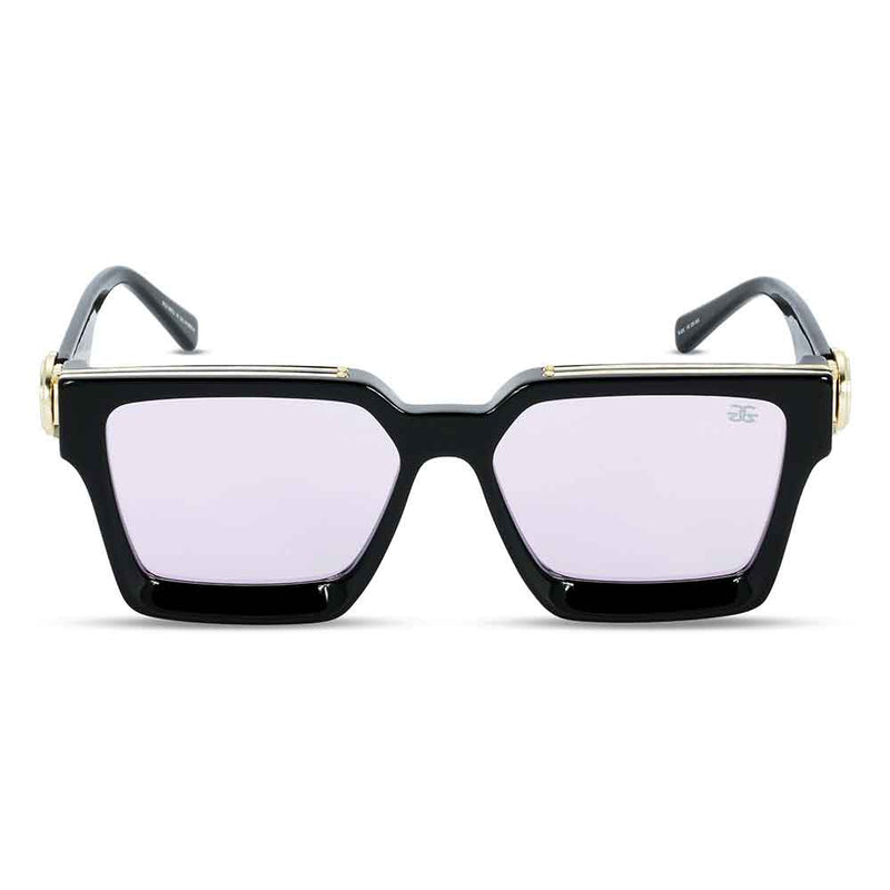 The Virgil Designer LV Sunglasses Gold Gods Black Lavender