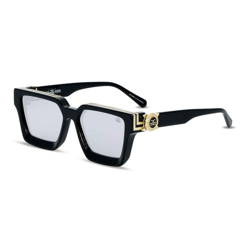 The Virgil Designer LV Sunglasses Gold Gods Black Lavender 2