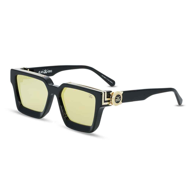 The Virgil Designer LV Sunglasses Gold Gods Black 2