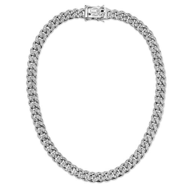 Diamond Miami Cuban Link Chain (12mm)