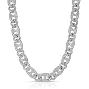 Diamond Gucci Cuban Link Chain