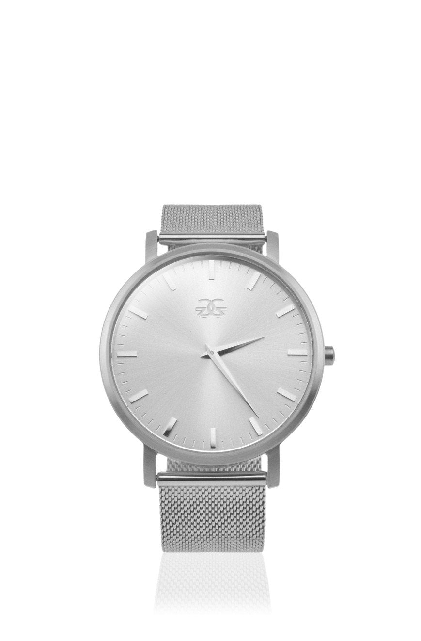 The Milanese Watch in White Gold