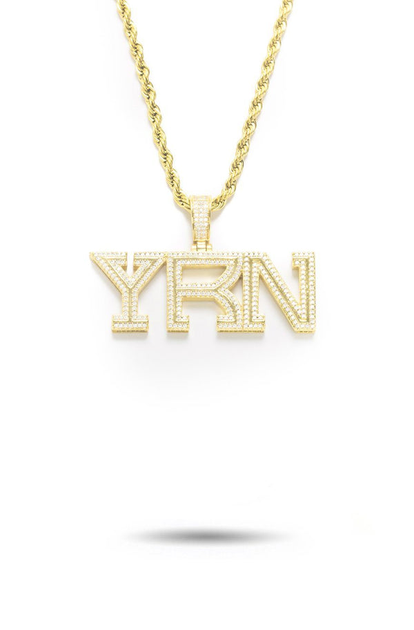 Yung Rich Nation YRN Piece with Rope Chain