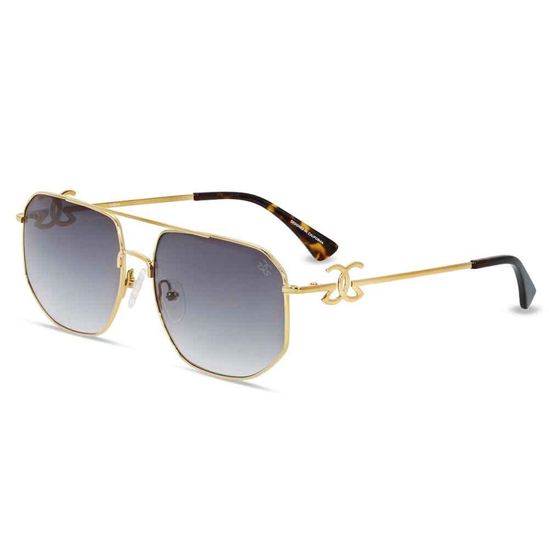 The Zelus Sunglasses Designer Vintage Gold Gods 11
