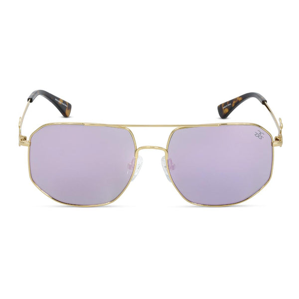 The Zelus Sunglasses Designer Vintage Gold Gods 1