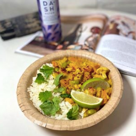 coconut curry made at first coffee shop