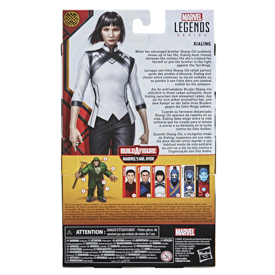 Marvel Legends Series Shang-Chi And Legend Of Ten Rings Xialing