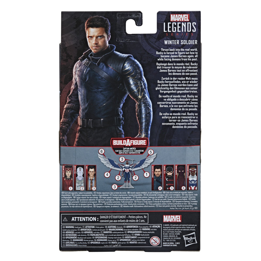 Marvel Legends Series Winter Soldier