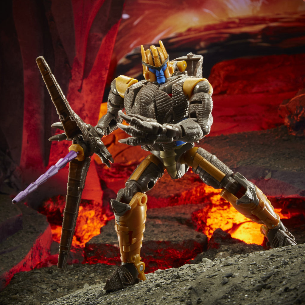 Transformers Generations War for Cybertron: Kingdom Voyager WFC-K18 Dinobot