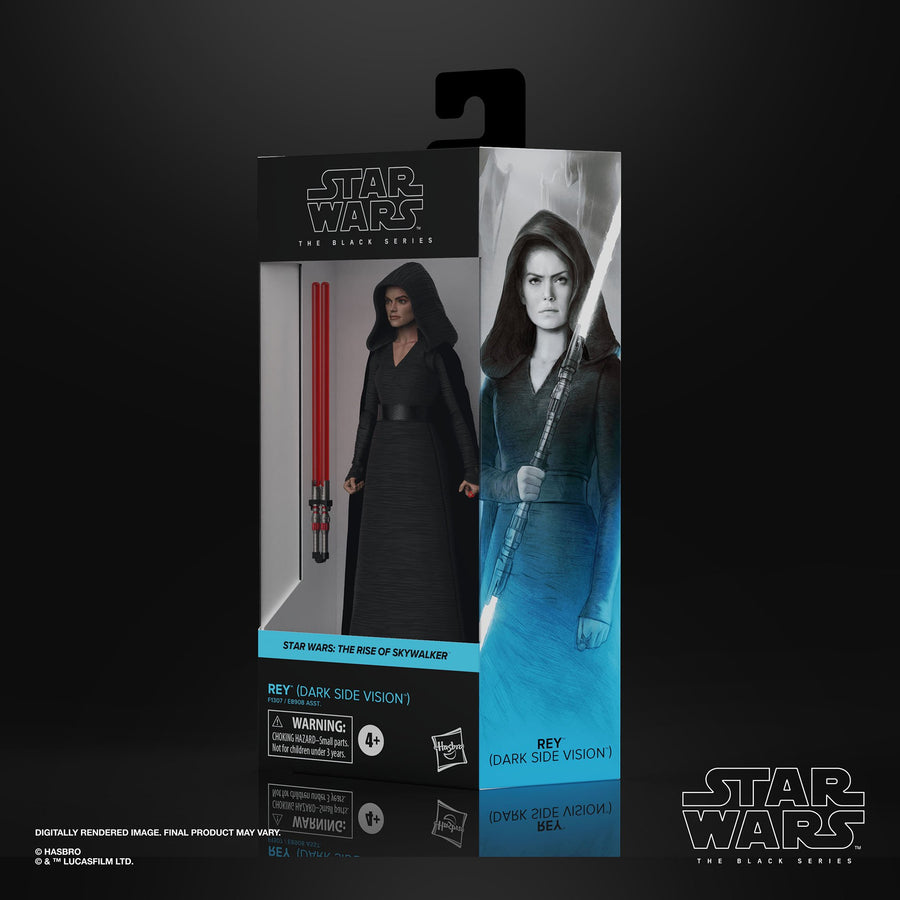 Star Wars The Black Series Rey (Dark Side Vision)
