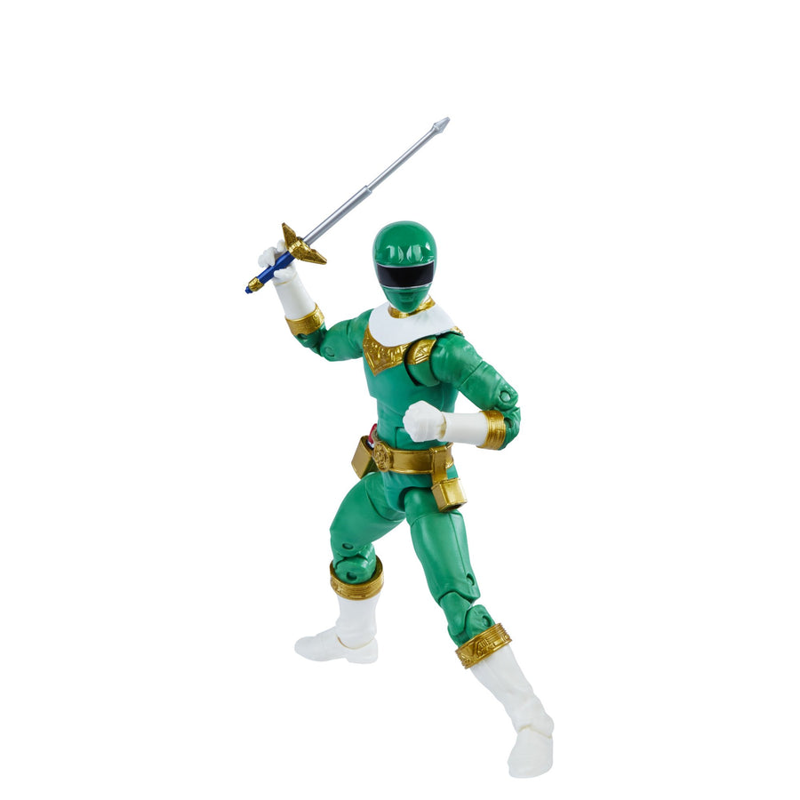 Power Rangers Lightning Collection Zeo IV Green Ranger Figure