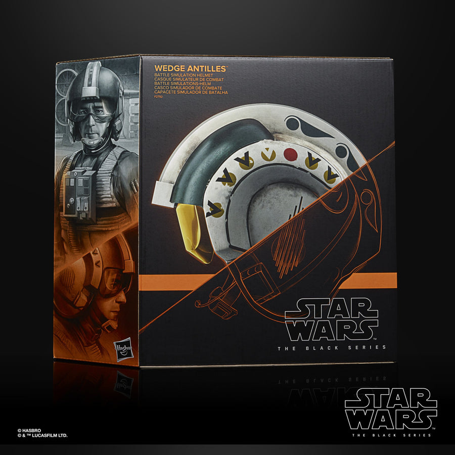 Star Wars The Black Series Wedge Antilles Battle Simulation Helmet