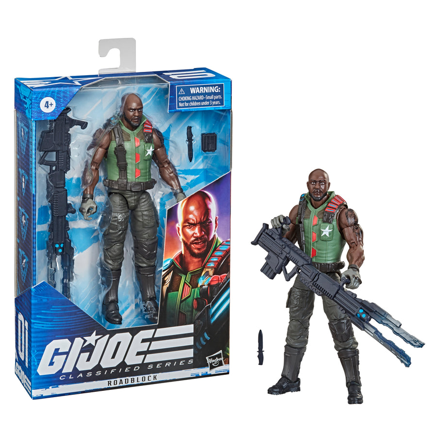 G.I. Joe Classified Series Roadblock Filed Variant Action Figure