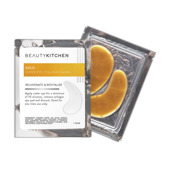 24k Nano Gold Under Eye Collagen Mask 3-Pack