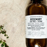 Rosemary hair and scalp spray with thyme and tea tree