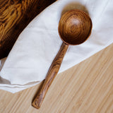 Wild Olive Wood Soup Spoon