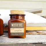 Wood Wick Candle - SALTED CARAMEL HONEYCRISP