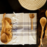 Spiral Jute Natural Placemat Set of 2