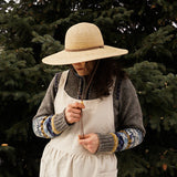 Outta the Sun Raffia Hat with Cord