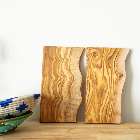 Raw Edge Cutting Board
