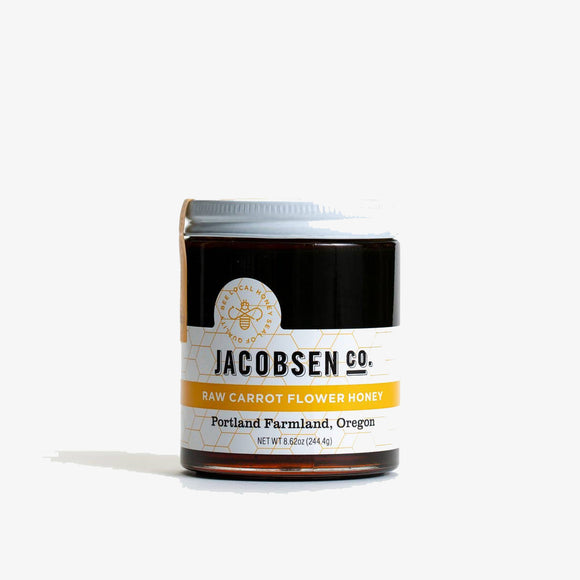 Raw Carrot Flower Honey - Jacobsen Salt Co.