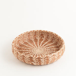 Mayan Basket - Natural Raffia Star
