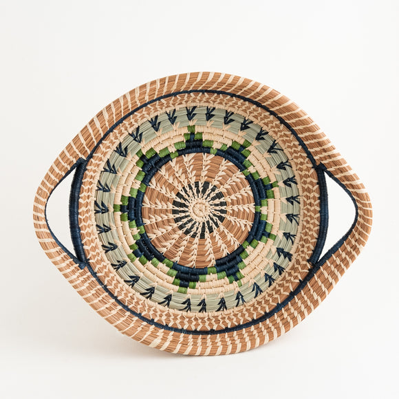 Mayan Basket - Green Star
