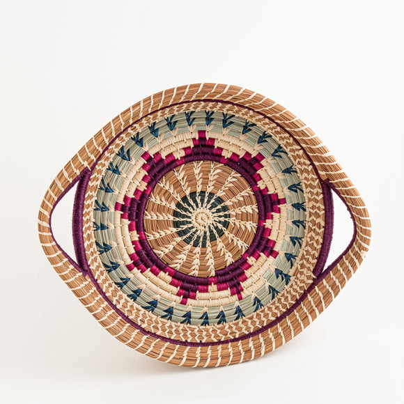 Mayan Basket - Purple Star